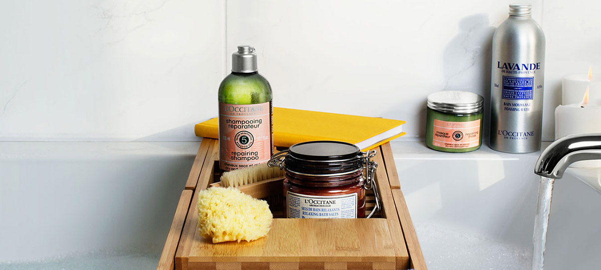 A RELAXING SPA DAY AT HOME - l'Occitane