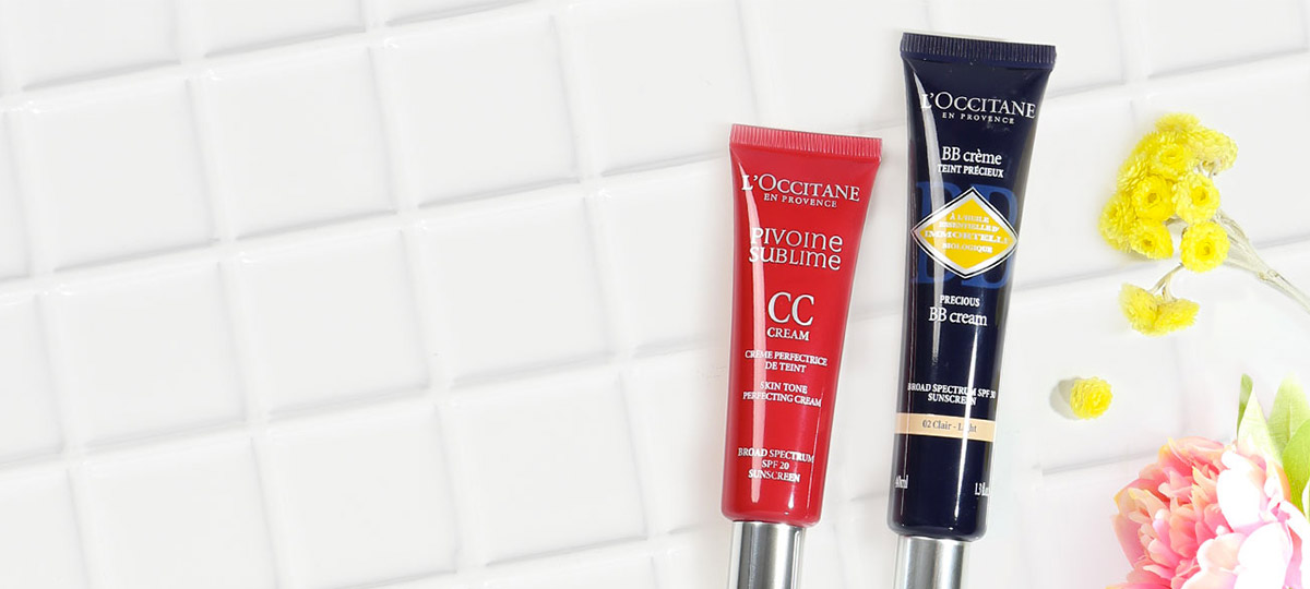 BB CC creams - l'Occitane