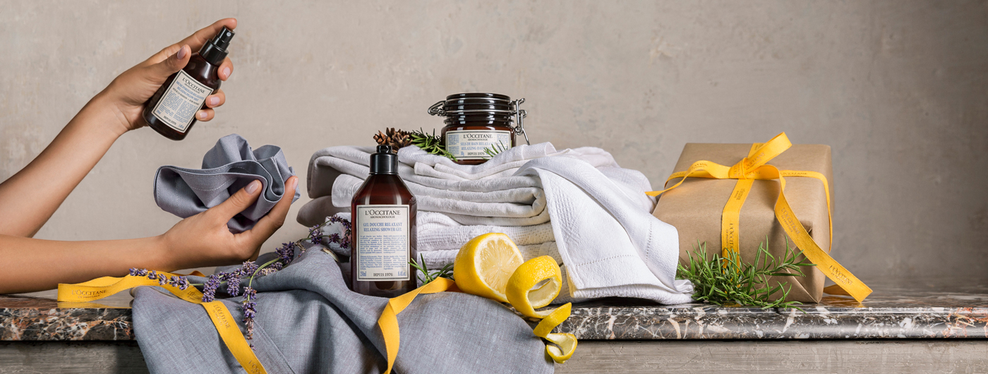 Home fragrance - Relaxing Pillow Mist - l'Occitane