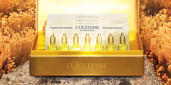 Signs of ageing - Divine skin program - l'Occitane